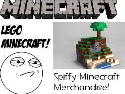 Spiffy Minecraft Merchandise! Lego Minecraft?! Massive Support From Fans! Minecraft Blog