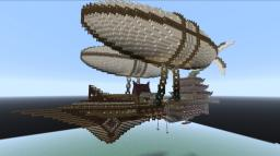 The Dreadnought - Skyfortress of the Dragon-Emperor Minecraft