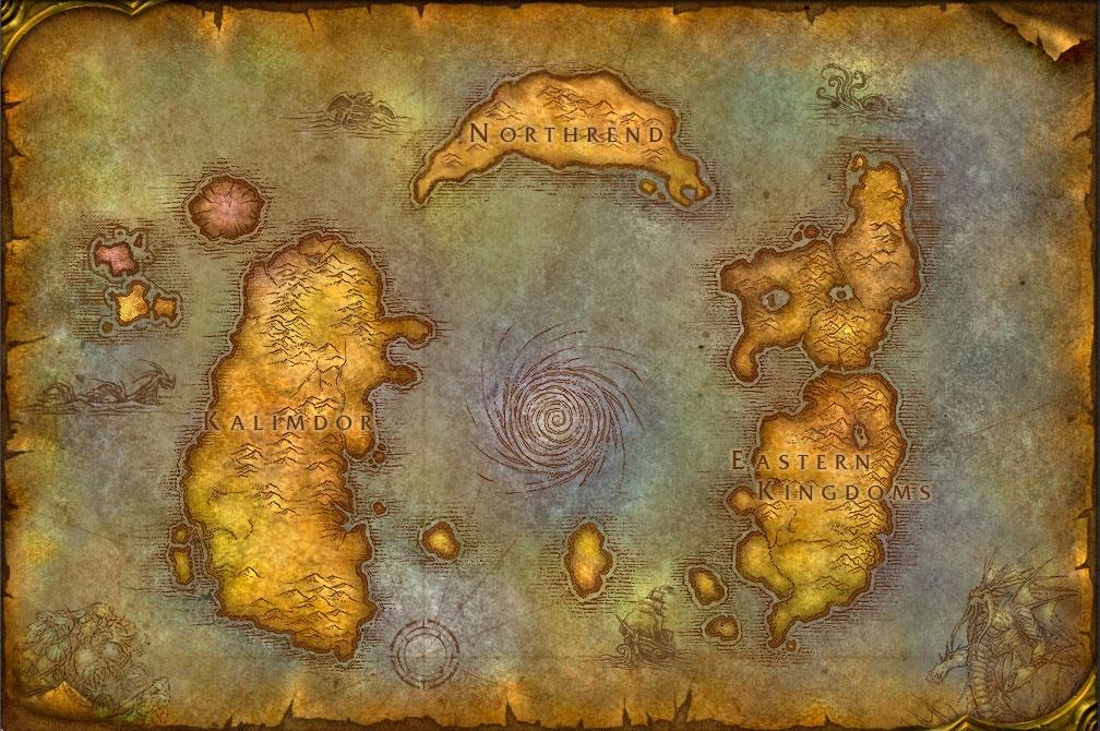 World of Warcraft - Azeroth - Cataclysm Minecraft Map