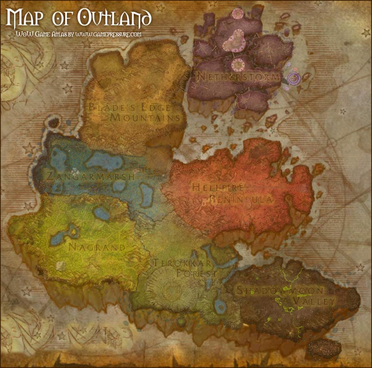 World of Warcraft - Outlands Minecraft Project