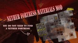 [1.2.5]Nether Fortress Materials Mod UPDATET! - Craft what you need! Minecraft Mod