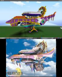 Fahrenheit (Final Fantasy X Airship) Minecraft Map & Project