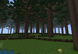 Red Wood Elvan Forest Minecraft Map & Project