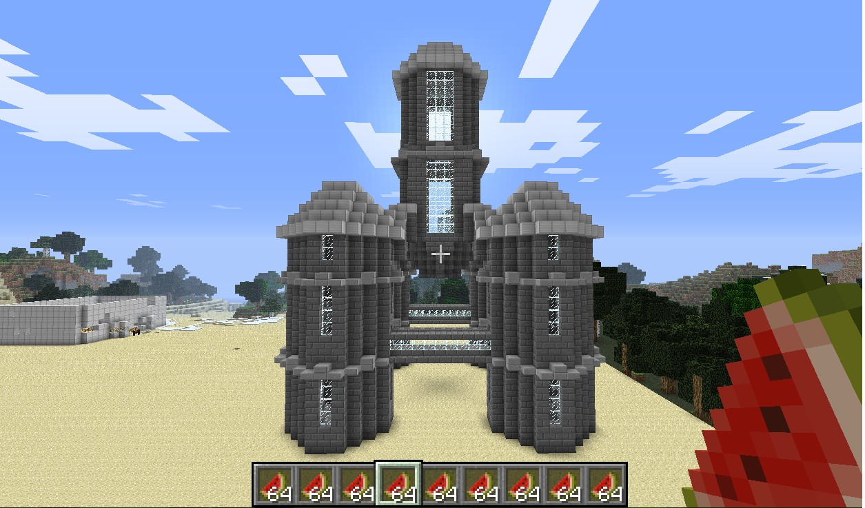 How to make a brick in Minecraft for your castle