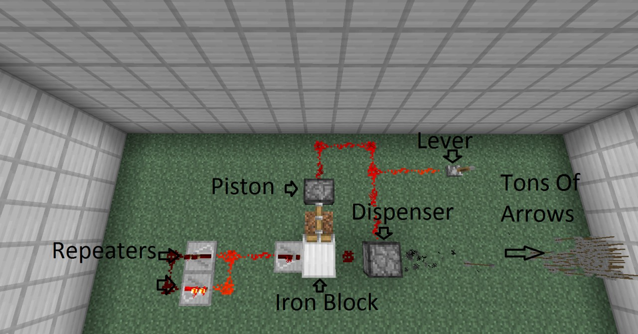 how to hook up dispensers minecraft This can dispenser would just hook onto the shelf with the upper part touching the glass on top of the shelf it is hanging from was this helpful yes.