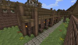 Medieval Pack 11 - stables Minecraft Project