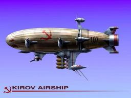 Kirov Airship ( from Red Alert 3 ) Minecraft Map & Project
