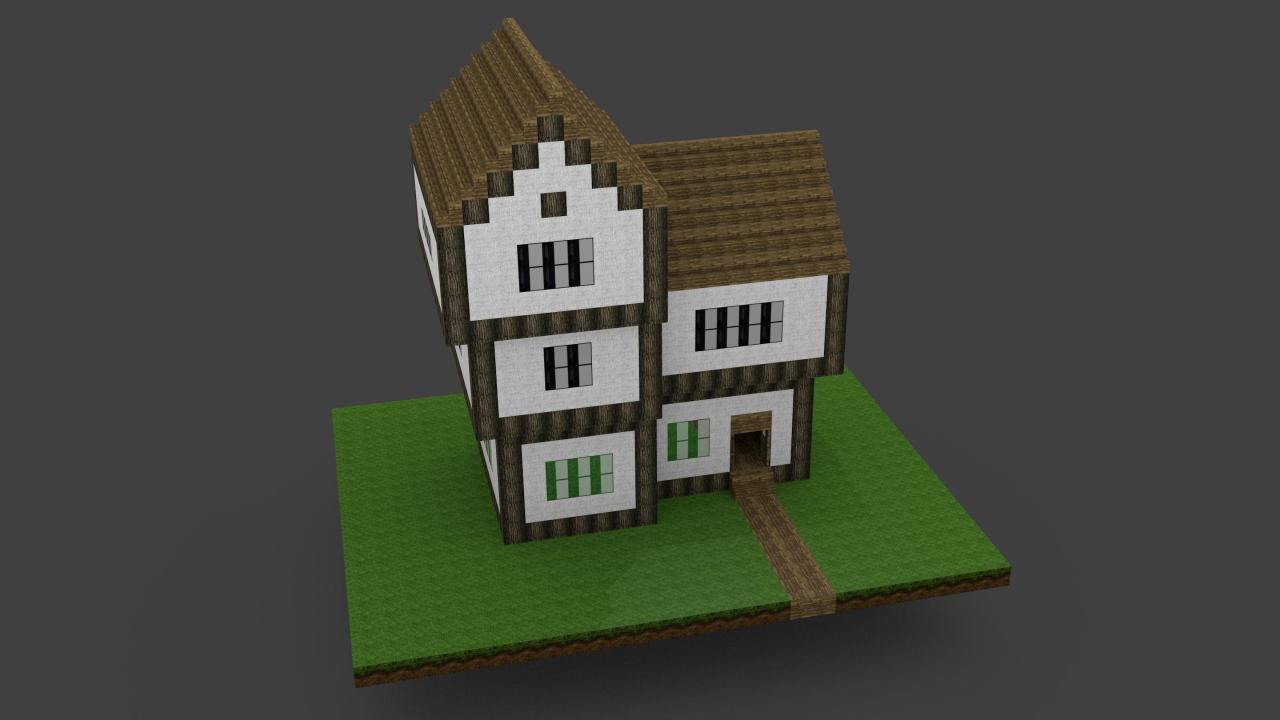 Tudor house minecraft project for Tutor house