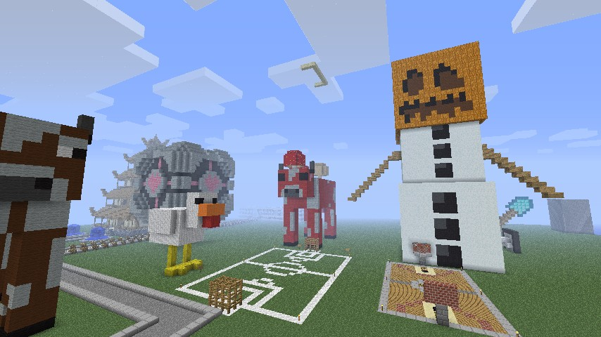 how to make giant mobs in minecraft