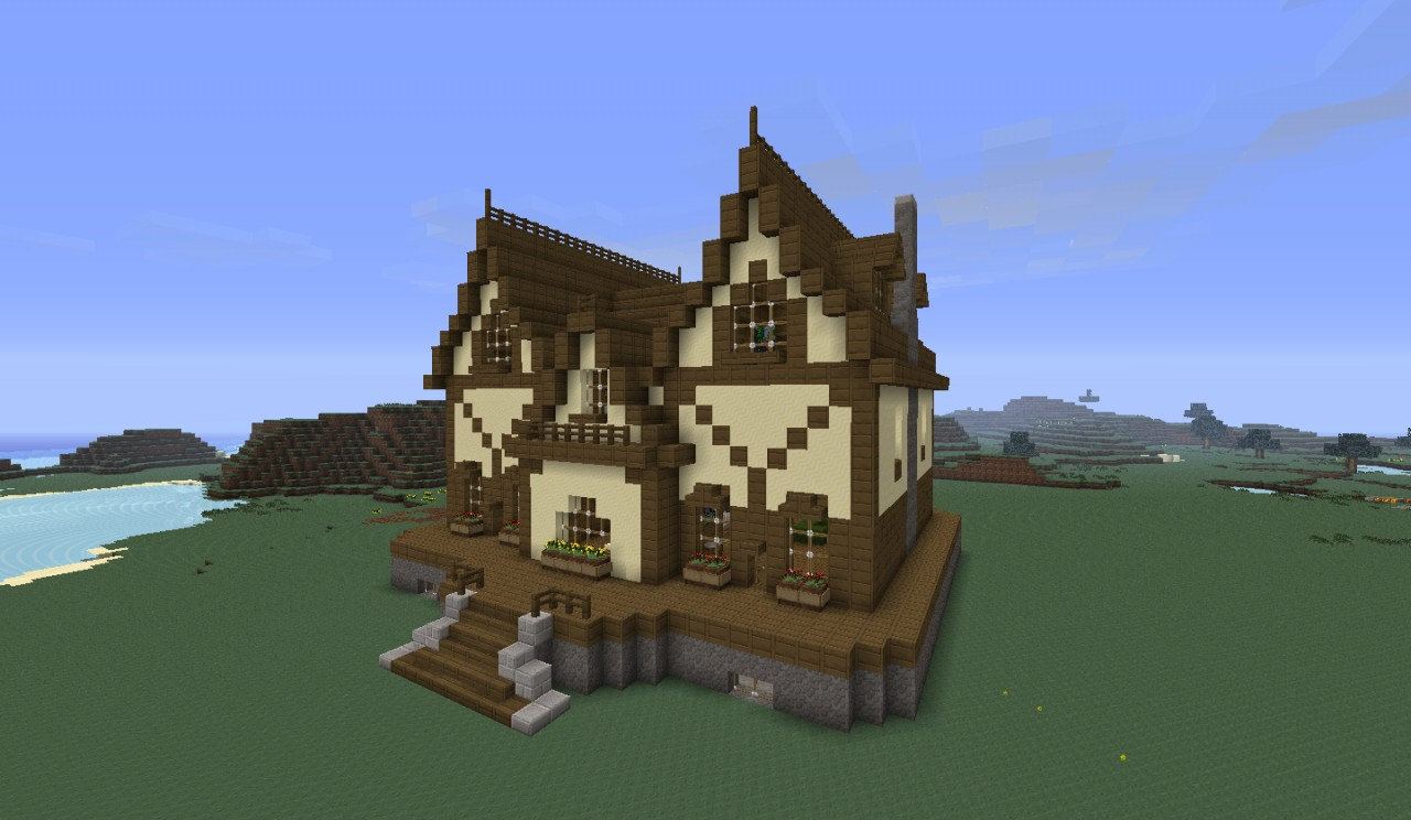 Victorian House 1 Minecraft Project