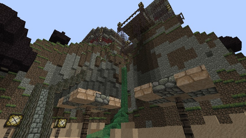 Awesome Cliff House! Minecraft Project