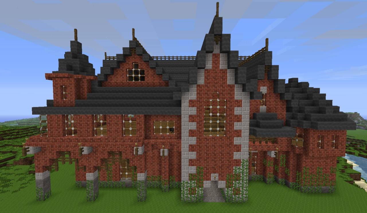 Victorian Style House Minecraft - Photos Style and ...