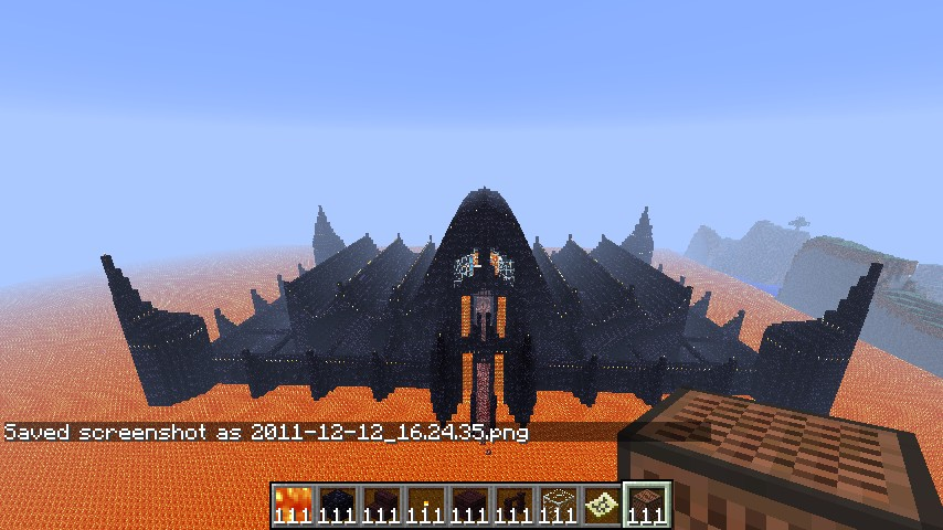 Thee Evil Castle on Minecraft Castle Blueprints