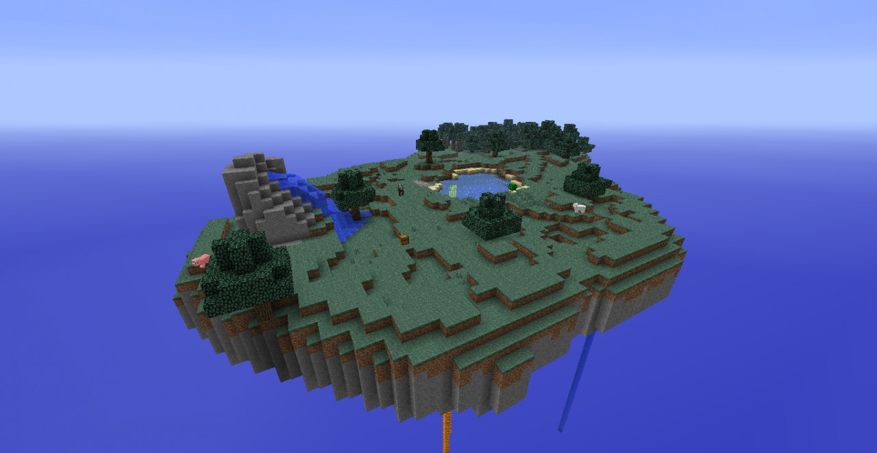 Sky Island Survival Minecraft Project
