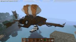 "Awesome Airship with secret room!! From the animation ""Eye of the Storm"" Minecraft Map & Project"