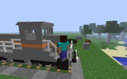 SM30 train 1:1 scale Minecraft
