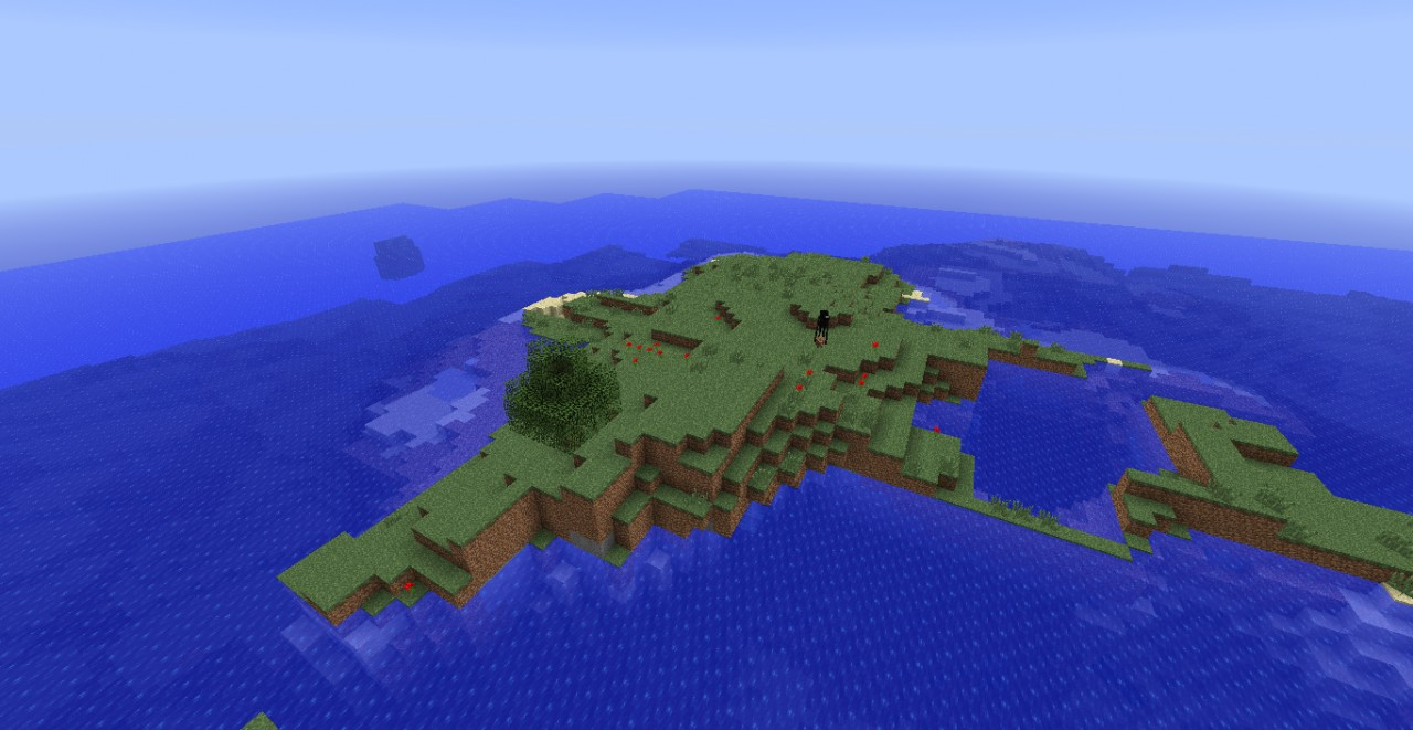 Minecraft Islands Seed (Great for a \'Survival Island\' map) Minecraft ...