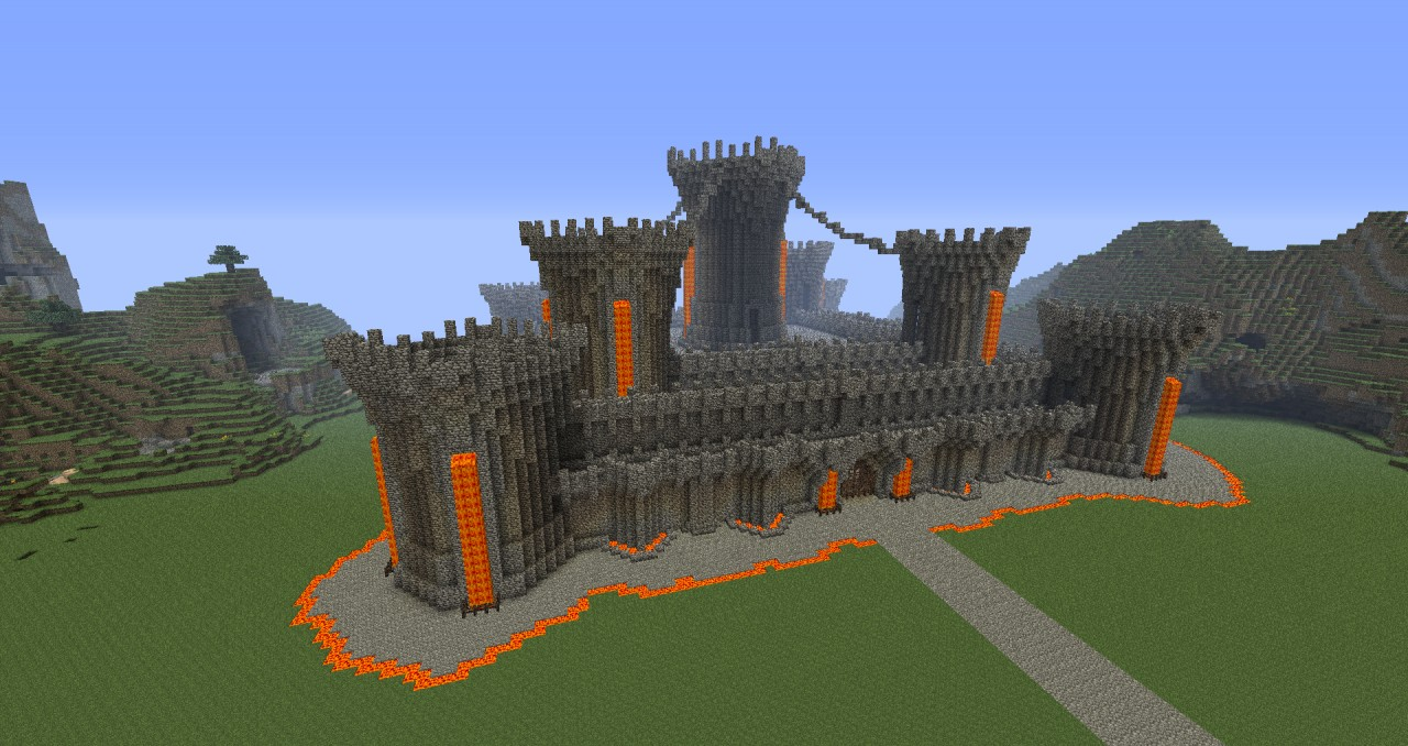 Epic Doom Castle Minecraft Project