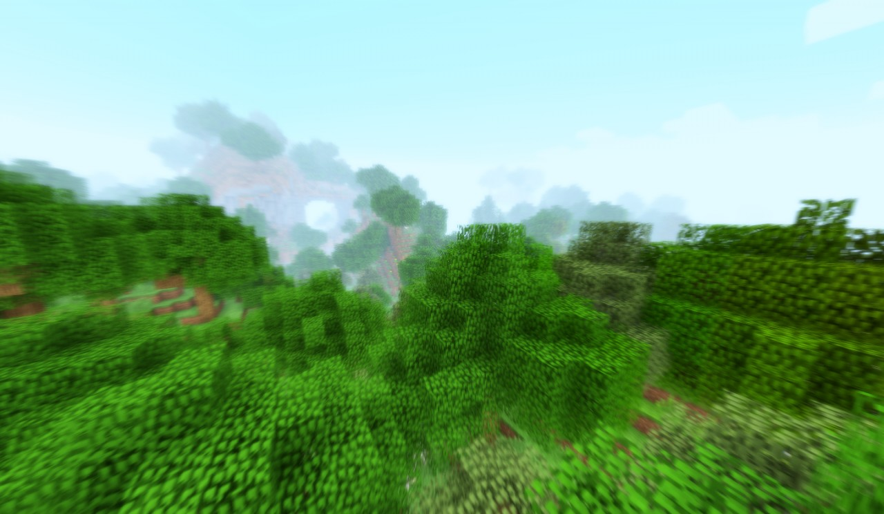 Moar lush forests.