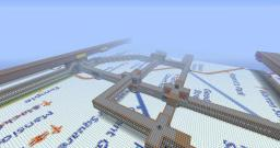 London Underground Train System (Ideal for large servers ) [like and comment] Minecraft Map & Project