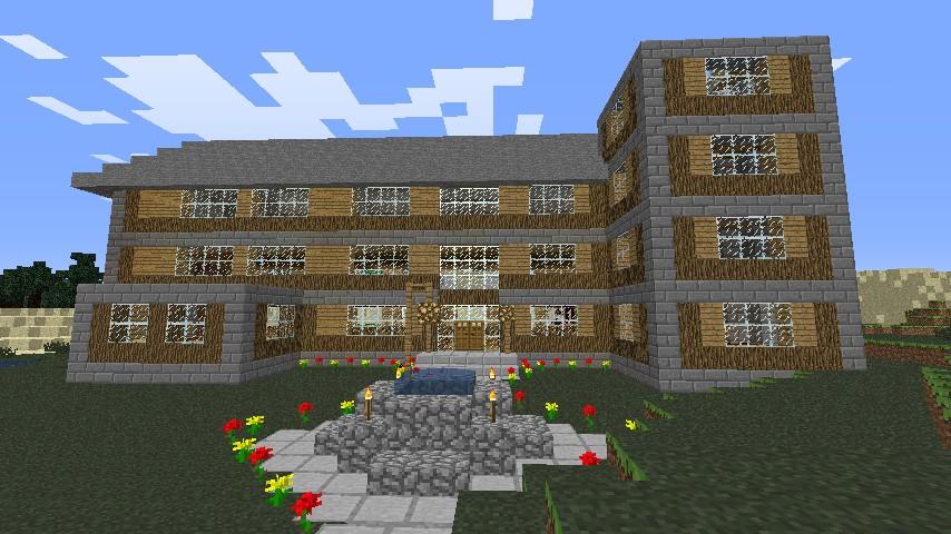 Survival Mansion With Item Machine Updated Minecraft