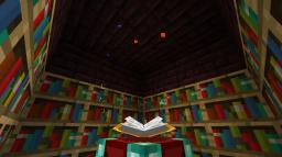Useful full 30-bookshelf enchanter Minecraft Project