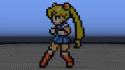 Sailor moon Minecraft Map & Project