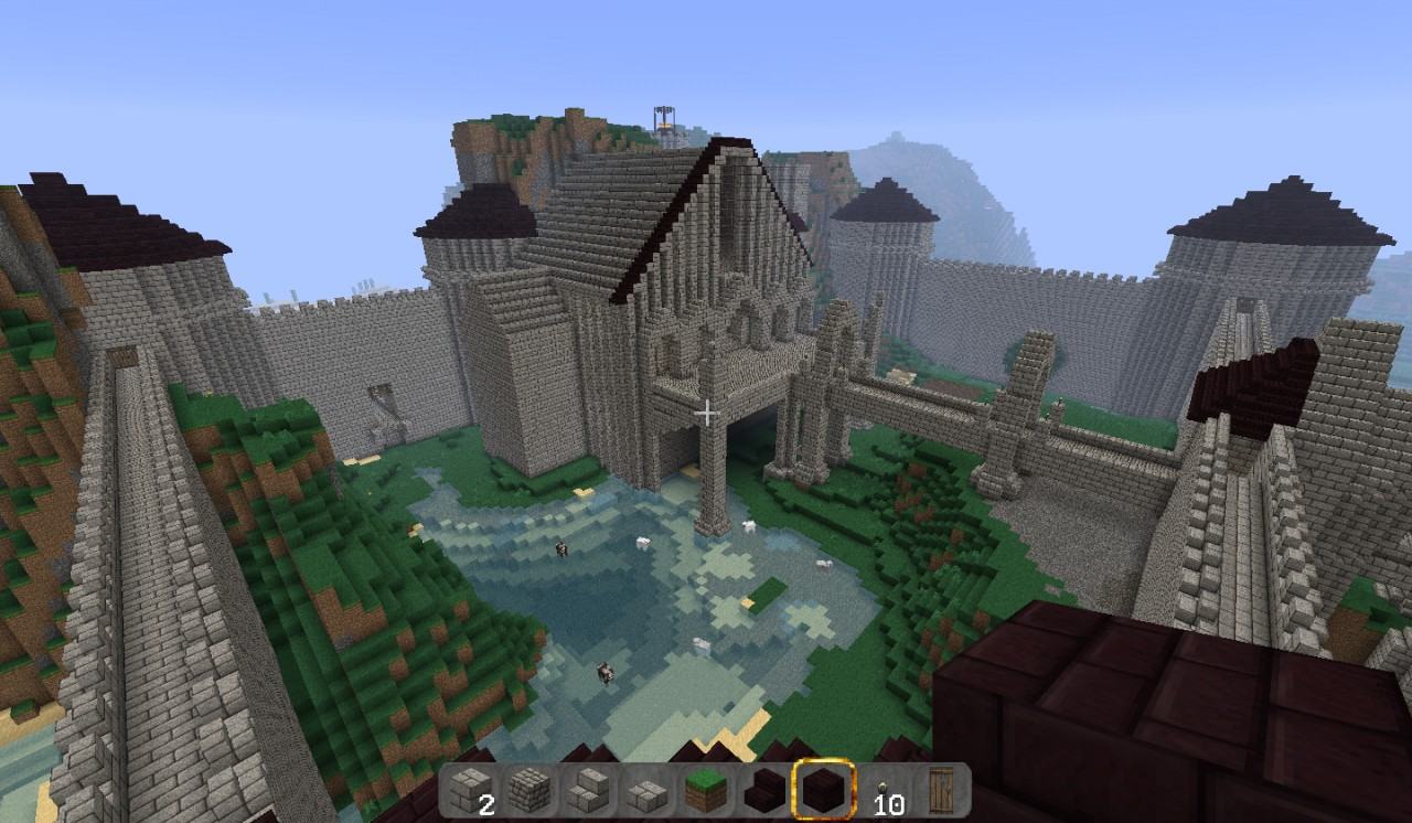 Nordic Style Castle (Great Hall) Minecraft Project