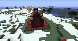 The Smoking Portal Minecraft Map & Project
