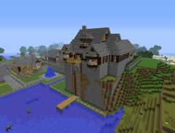 Rustic Manor Minecraft Project