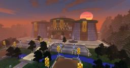 Tython Jedi Temple Minecraft Project