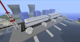 Fukoshima Nuclear Plant Minecraft Map & Project