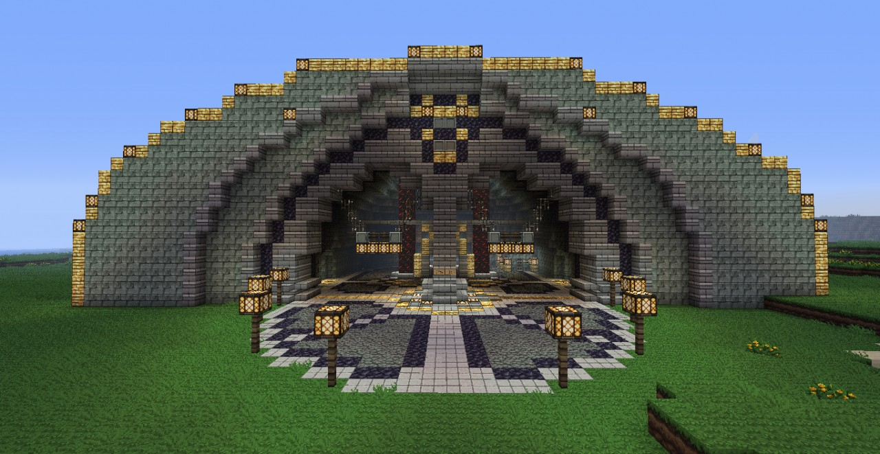 minecraft schematic file viewer html with Dwarven Great Hall on Fortnite Battle Bus 4097354 as well Through Arch Bridge furthermore Modern House Series 2 1131927 also Library 1374713 also Apartment  plex 1424865.