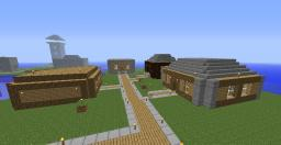 Hare's village Minecraft Map & Project