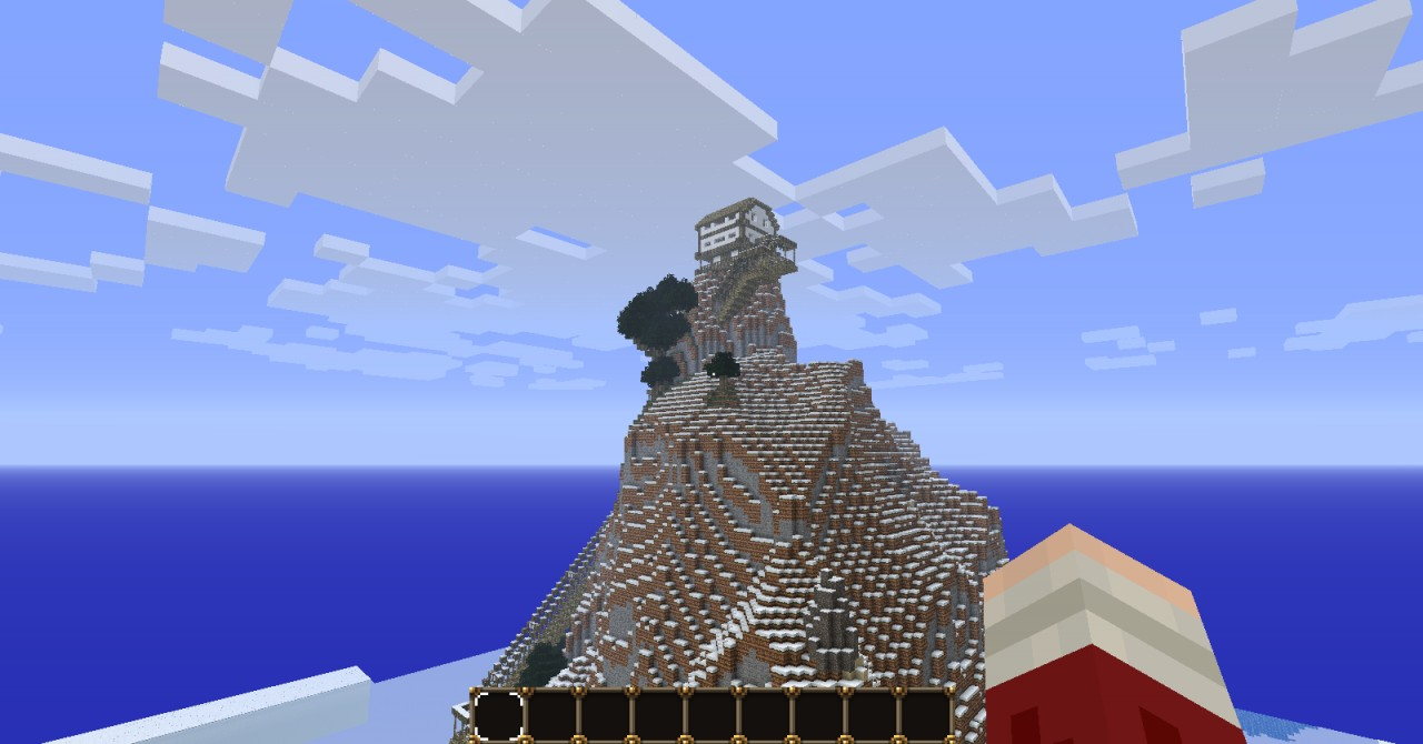 Medival mountain house minecraft project for Show pool post expert ng best forum
