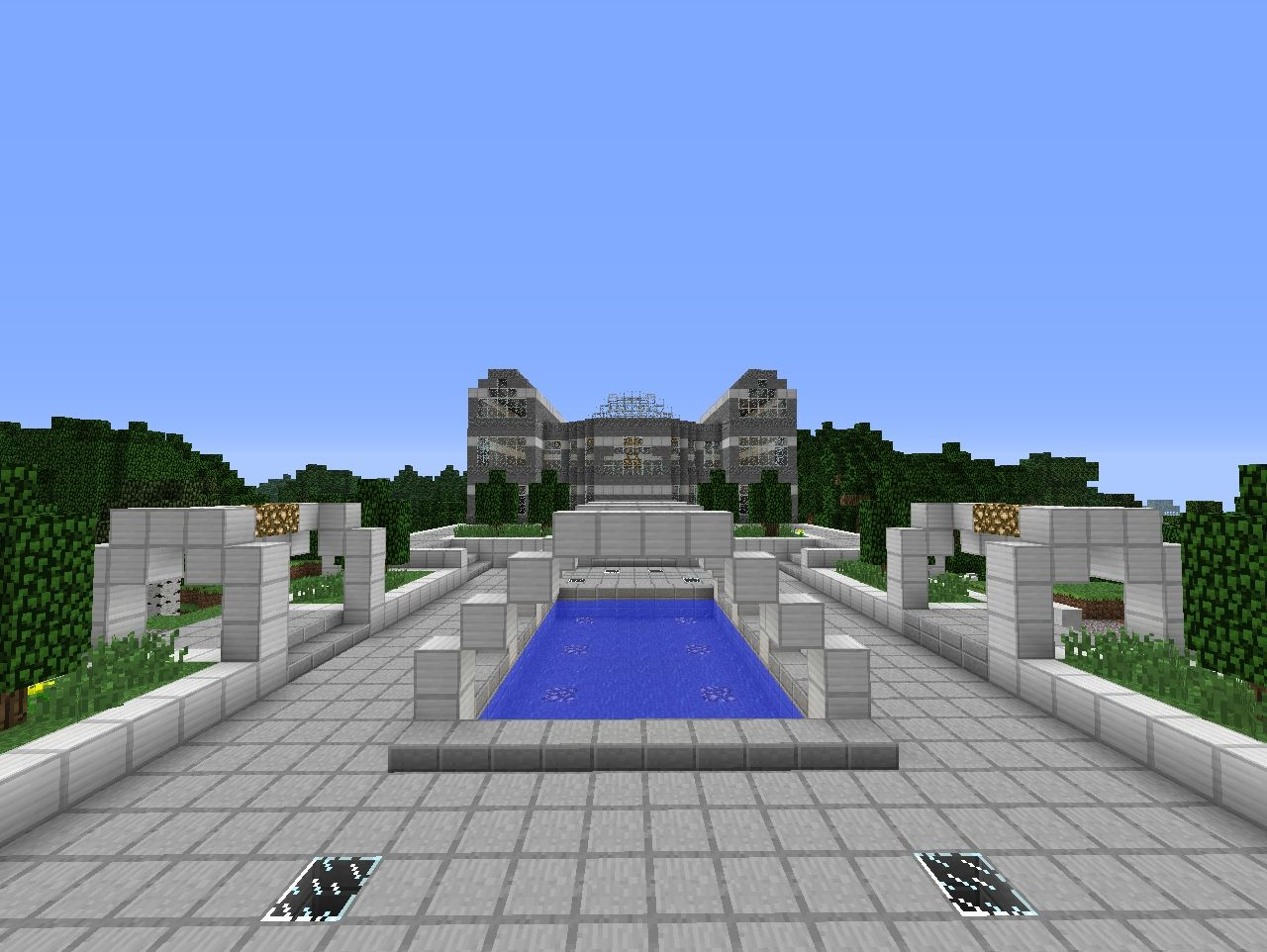 Modern City Hall Modern City Hall Minecraft