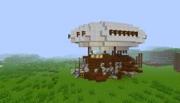 H.M.S Stormiron (airship) Minecraft Project