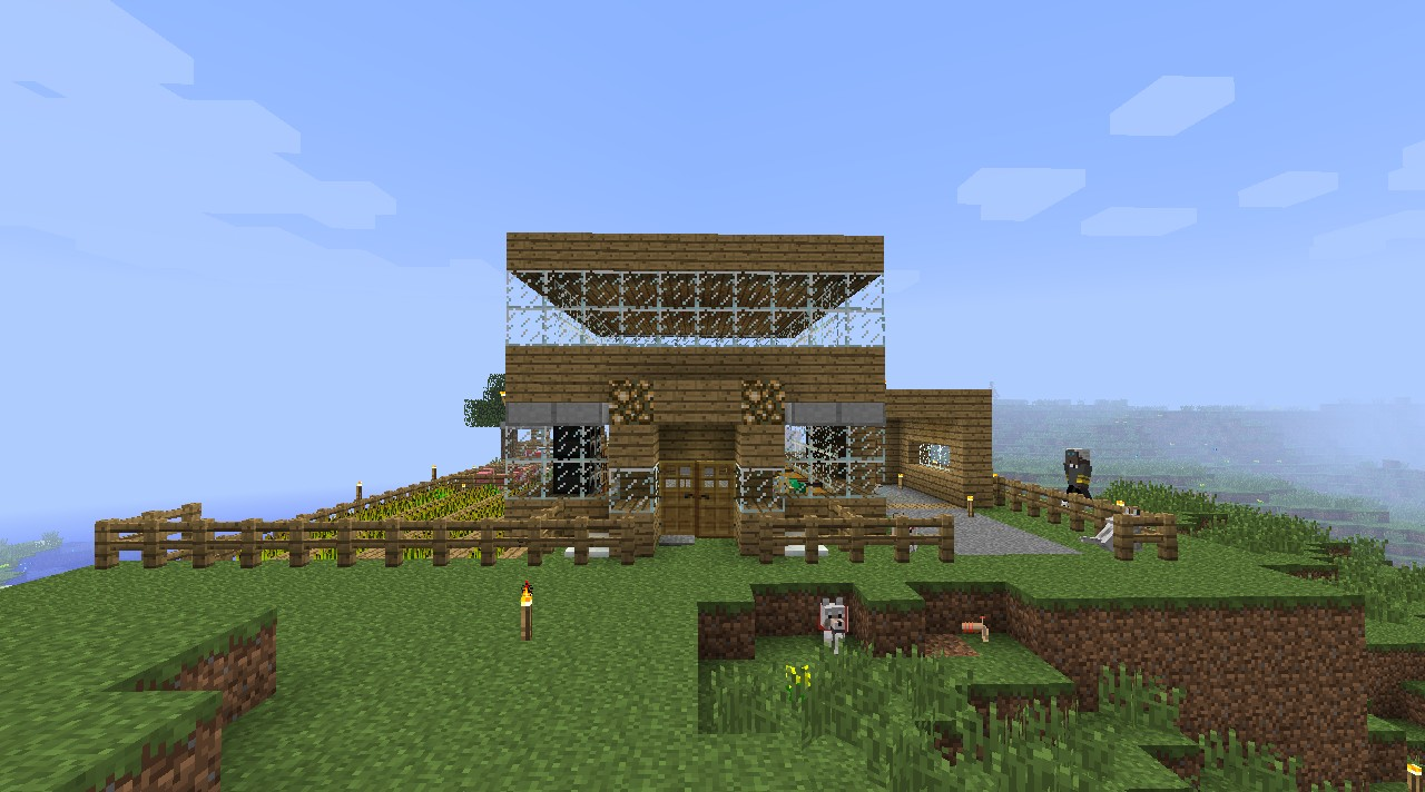 My Epic Minecraft House Minecraft Project