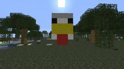 chicken face Minecraft Map & Project