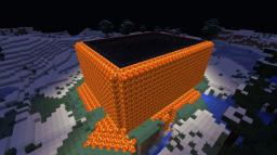 Giant Fortress (lava castle in snow biome) Minecraft Map & Project