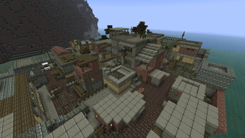Favela Modern Warfare 2 Minecraft Project