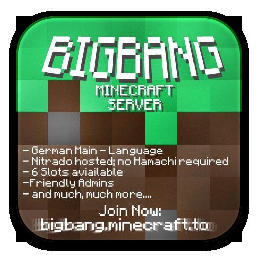 bigbang minecraft server. Black Bedroom Furniture Sets. Home Design Ideas