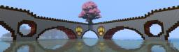 Huge Japanese Sakura - Cherry Tree (Server M.H.O Shinrin Faction) Minecraft