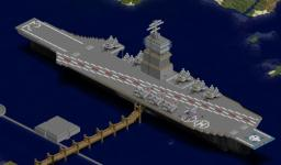 Aircraft Carrier Rising Dawn Minecraft Map & Project