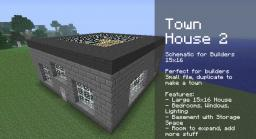 Town House Two [Large] [Bedrooms] [Builder Essentials] Minecraft Map & Project