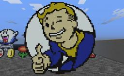 Vault Boy (Fallout 3 and Bethesda Studios FTW) Minecraft Map & Project