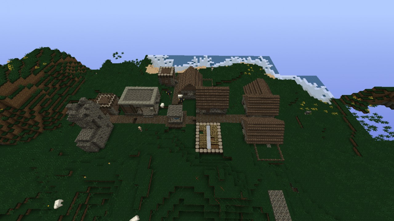 Minecraft land of new age - 4