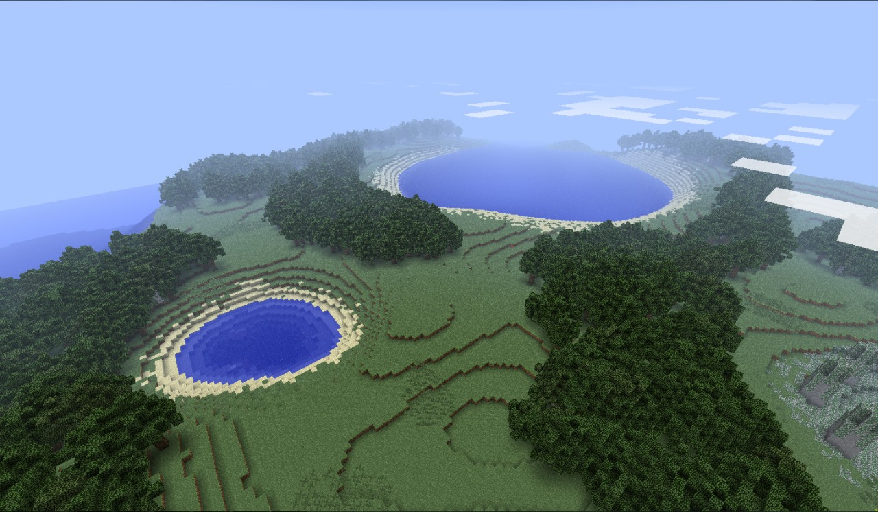 Deserted Tropical Island: Tropical Desert Island Minecraft Project