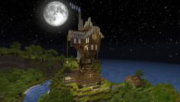 The Burrow from Harry Potter Minecraft