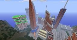 Minecraft TNT City Explosion!!! by TheHomicidalTendency Minecraft Map & Project